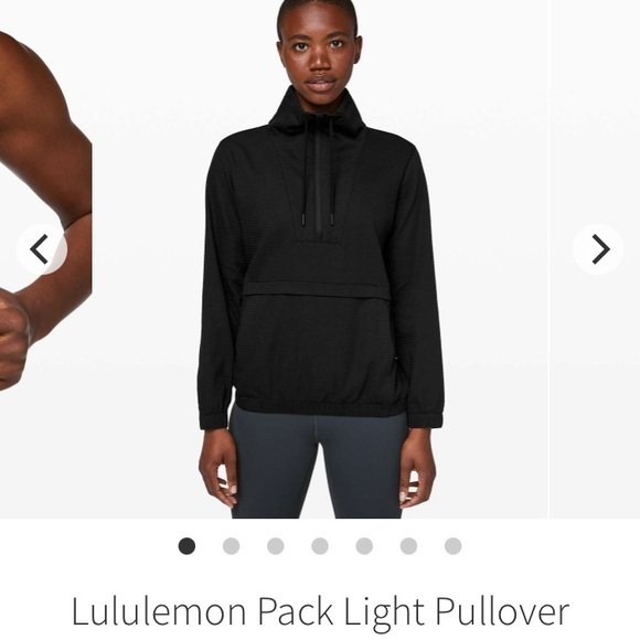 Lululemon Pack Light Pullover- XS